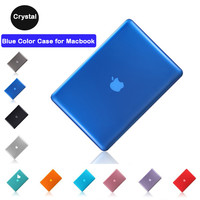 Transparent Crystal Hard PC Case for Apple Macbook 15.4pro A1286 13.3pro A1278 Case+screen protector+keyboard skin 3in1 Bundling
