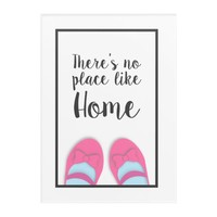 There's no place like home house warming gift acrylic print | Zazzle.co.uk