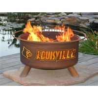 SheilaShrubs.com: University of Louisville Fire Pit F224 by Patina Products: Collegiate Fire Pits