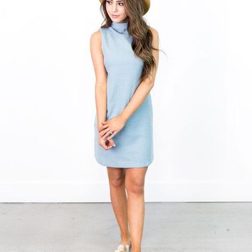 Corey Boat Neck Mini Dress