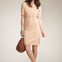 Organic Cotton Knitted Maternity and Nursing Dress