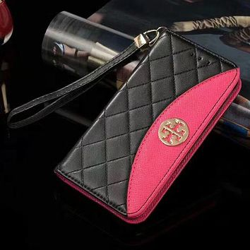 Perfect Tory Burch  Phone Cover Case For Samsung s7edge s8 s8+  note 8 iphone 6 6s 6plus 6s-plus 7 7plus 8 8plus X