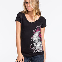 Metal Mulisha Glory Days Womens Tee Black  In Sizes