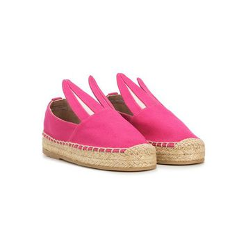 Minna Parikka Kids Bunny Ear Espadrilles - Farfetch