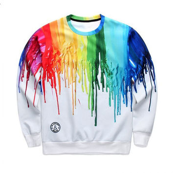 Fashion Sweater Melting colors