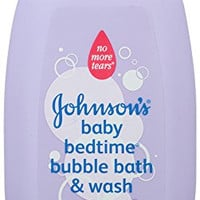 Johnson's Baby Bedtime Bubble Bath, 28 Ounce (Pack of 4) Packaging May Vary