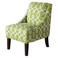 Threshold™ Swoop Chair - Green Cursive