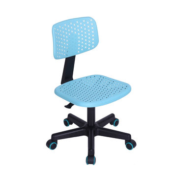 FurnitureR Ergonomic Home Office Student Computer Desk ChairHollow Star Turquoise Turquise