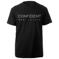 Demi Lovato Official Store | Confident Logo Shirt