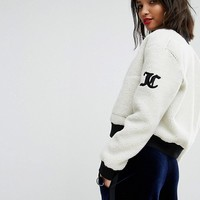 Juicy Couture Sherpa Reversible Jacket at asos.com