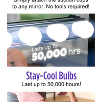 Studio Glow - The Cordless, Powerful Studio Lights That Turn Any Mirror Into A Professional Makeup Mirror!