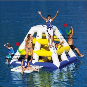 Hot Sales Popular Inflatable Floating Island / Inflatable Climbing Water Slide For Adult/ Inflatable  Water Game