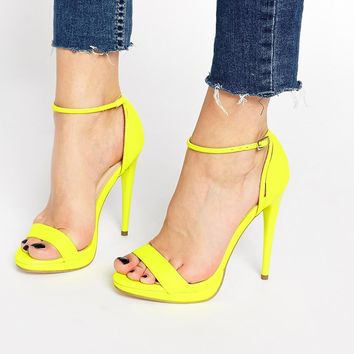 Carvela Jessie Barely There Heeled Sandals