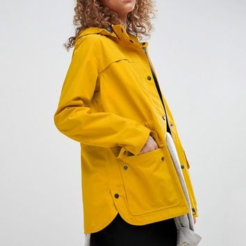 Barbour Barometer Festival Rain Mac Jacket at asos.com