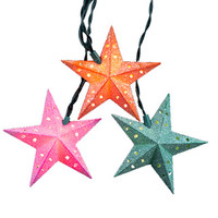 Kurt Adler 10-light Sugar Star Light Set