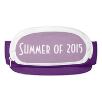 Purple Cap-Sac fanny pack for head, Summer of 2015 Visors