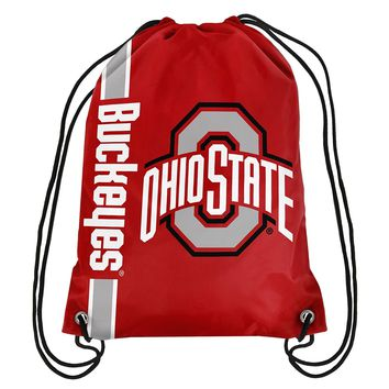 Ohio State Buckeyes Game Day Drawstring Backpack