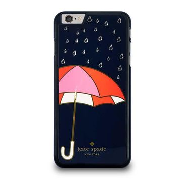 NAVY UMBRELLA KATE SPADE iPhone 6 Plus Case Cover