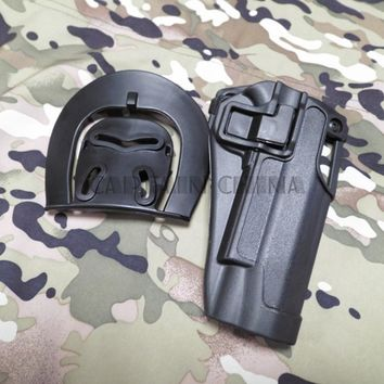 Tactical Gun holster C Q C 1911 Holster Tactical Colt 1911 hard plastic Holsters Black
