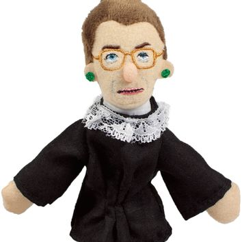 Ruth Bader Ginsburg Magnetic Personality Finger Puppet - PRE-ORDER, SHIPS EARLY JUNE