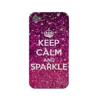 Keep Calm and Sparkle Glitter from Zazzle.com