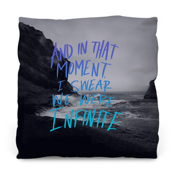 Infinite Outdoor Throw Pillow