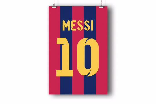 Lionel Messi Number 10 Jersey from Gesshop | Quick Saves