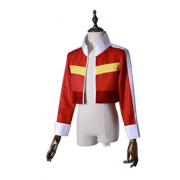 voltron legendary defender cosplay Keith Red Jacket for women men halloween costumes for men adult cosplay Top Coat Outfit adult
