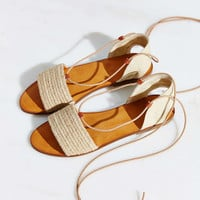 Ecote Namic Lace-Up Slide Sandal - Urban Outfitters
