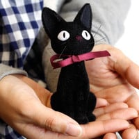 Studio Ghibli Kiki's Delivery Service Flocking Doll  (Jiji)