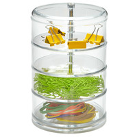 The Container Store > 4-Section Acrylic Swivel Organizer