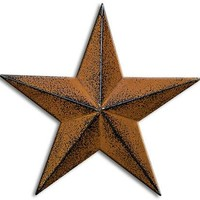 Rustic 5-pointed Barn Star