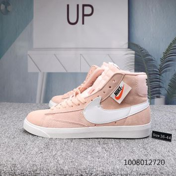 KUYOU N707 Nike Blazer Mid Rebel Ziipper Skateboard Shoes Pink