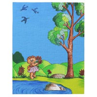 Girly Bear Jigsaw Puzzle