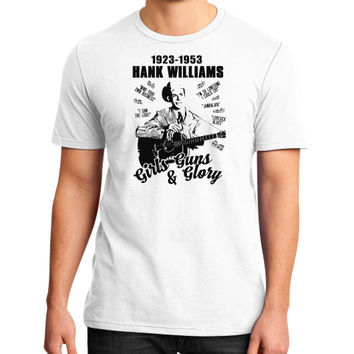 Hank williams District T-Shirt (on man)