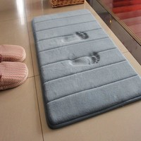 Water Absorption Rug Bathroom Mat