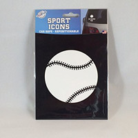 The Peel People Sports Icons Baseball Vehicle Sticker Decal
