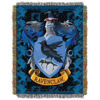 Exclusive Ravenclaw Crest Tapestry Throw | WBshop.com | Warner Bros.