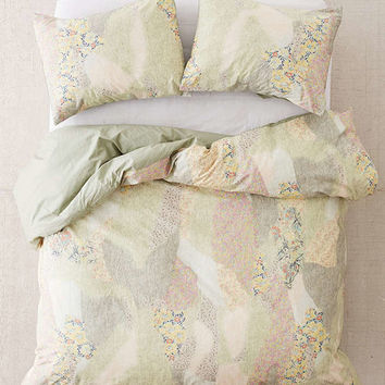 Floral Camo Duvet Cover | Urban Outfitters