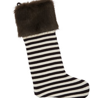 Henri Bendel Striped Stocking