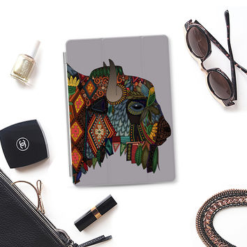 bison heather gray iPad iPad Air cover by Sharon Turner | Casetify