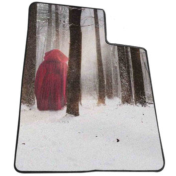 red riding hood winter  for Kids Blanket, Fleece Blanket Cute and Awesome Blanket for your bedding, Blanket fleece *AD*