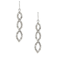 Cezanne Oval Drop Earrings