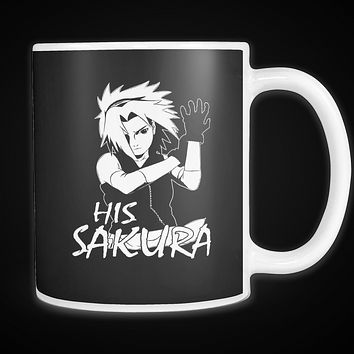 Naruto - His Sakura - 11oz Coffee Mug - TL01132M1