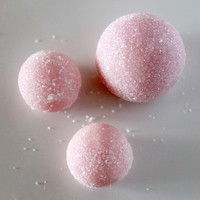Wine & Roses Sugared Baubles - Solid Sugar Scrubs