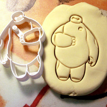 Baymax Big Hero 6 Cookie Cutter - Made from Biodegradable Material