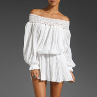 Jen's Pirate Booty Seastar Off Shoulder Dress in White from REVOLVEclothing.com