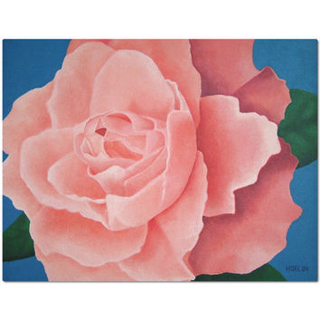 Every Rose - Placemat of Acrylic Paint Fine Art