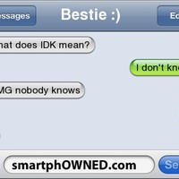 smartphowned what does idk mean - Google Search
