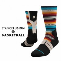 Stance | Jimenez Multi, Black, Aqua, Orange, Grey, Maroon socks | Buy at the Official website Main Website.